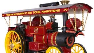 Model of traction engine