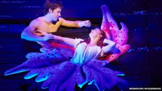 Nick Hendrix (Digby) and Rosalie Craig (Althea) in The Light Princess