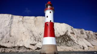 Beachy Head repainting