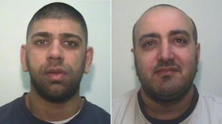 Rashid Hussain and Mohammed Yasin
