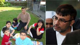 Dr Shakoor and his family