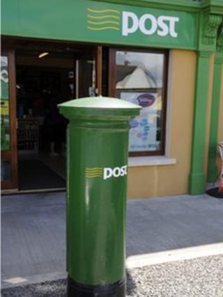 Post box in Republic of Ireland