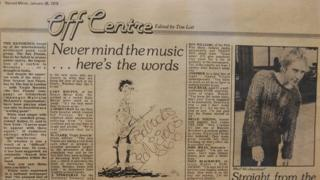 Copy of Record Mirror, 1978