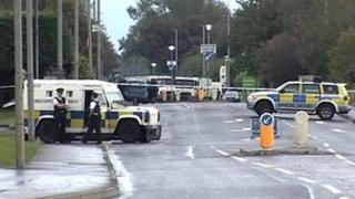 Alert on Buncrana Road