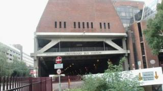 Greyfriars Bus Station in Northampton
