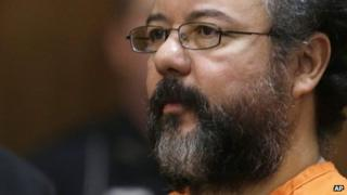 Ariel Castro in the courtroom in Cleveland. Photo: August 2013