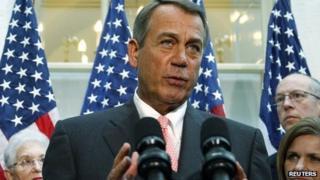 Republican House Speaker John Boehner. Photo: 10 October 2013