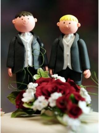 Equal marriage cake