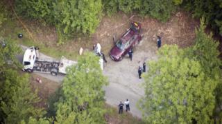 Alps Murder scene near Lake Annecy