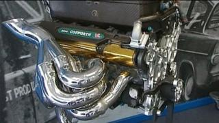 A Cosworth engine