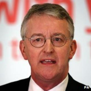Shadow Communities Secretary Hilary Benn