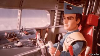 A puppet from the Thunderbirds