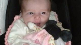 Baby Isobel King