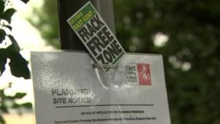 Frack Free Kent notice
