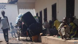 Displaced people in Bossangoa, CAR