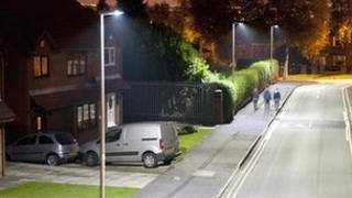 An artist impression of the new lighting
