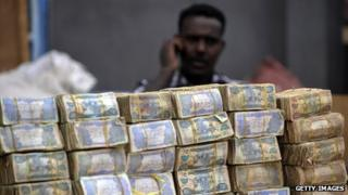 Cash in Somalia