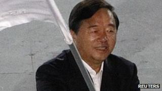 File image of Nanjing Mayor Ji Jianye, taken at the Singapore 2010 Youth Olympic Games on 26 August 2010