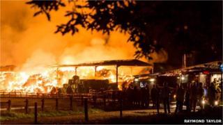 Hevingham fire