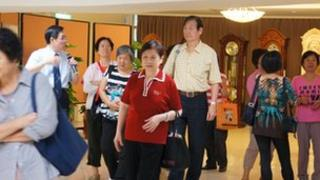 Taiwan senior citizens