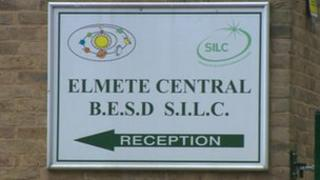 Elmete Central School sign