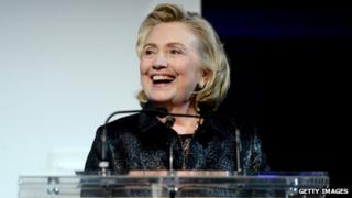 File photo: Hillary Clinton