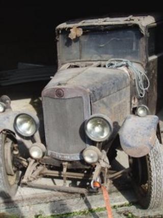 1928 Lea Francis P Type saloon car