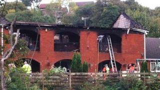 Fatal house fire Abernant, Aberdare