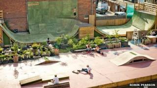 Frontside Gardens skate park