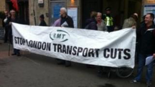 RMT protest