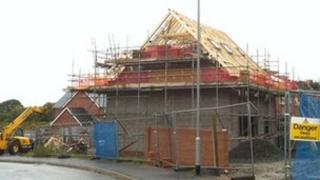 New home being built on Anglesey