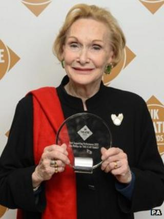Sian Phillips at the UK Theatre Awards
