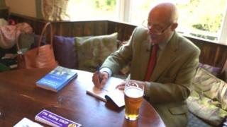 Godfrey Bloom book-signing