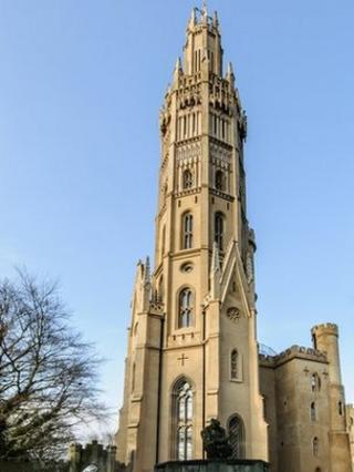 Restored Hadlow Tower