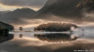 Tony Bennett's shot of Crummock Water