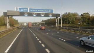 The M1 motorway