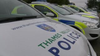 Thames Valley Police cars