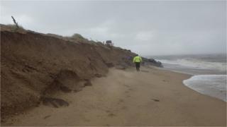 West Norfolk beach erosion