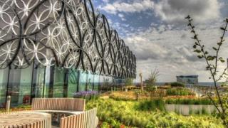 Library roof gardens
