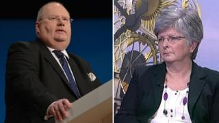 Eric Pickles and Anne Western