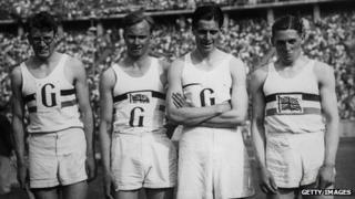 Godfrey Brown, Frederick Wolff, Godfrey Rampling and William Roberts