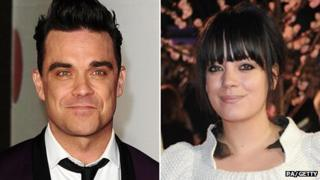 Robbie Williams, Lily Allen