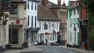 Framlingham street scene