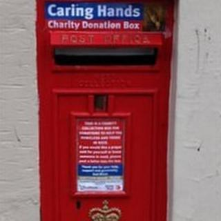 Jersey charity postbox