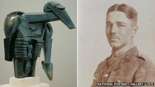 Torso in Metal by Sir Jacob Epstein and Wilfred Owen by John Gunston, 1916