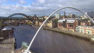Tyne River scene