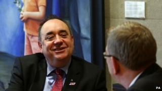 Alex Salmond in talks