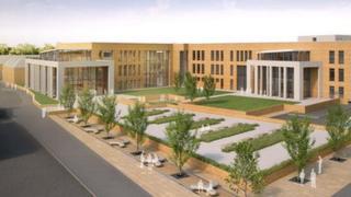 Wellingborough campus: artist impression