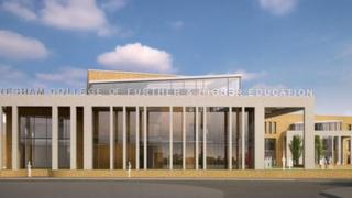 Wellingborough campus: artist impression