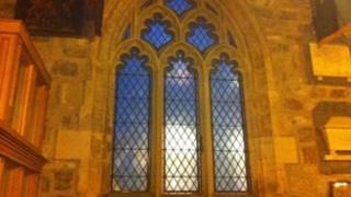 Window at All Saints Church, York